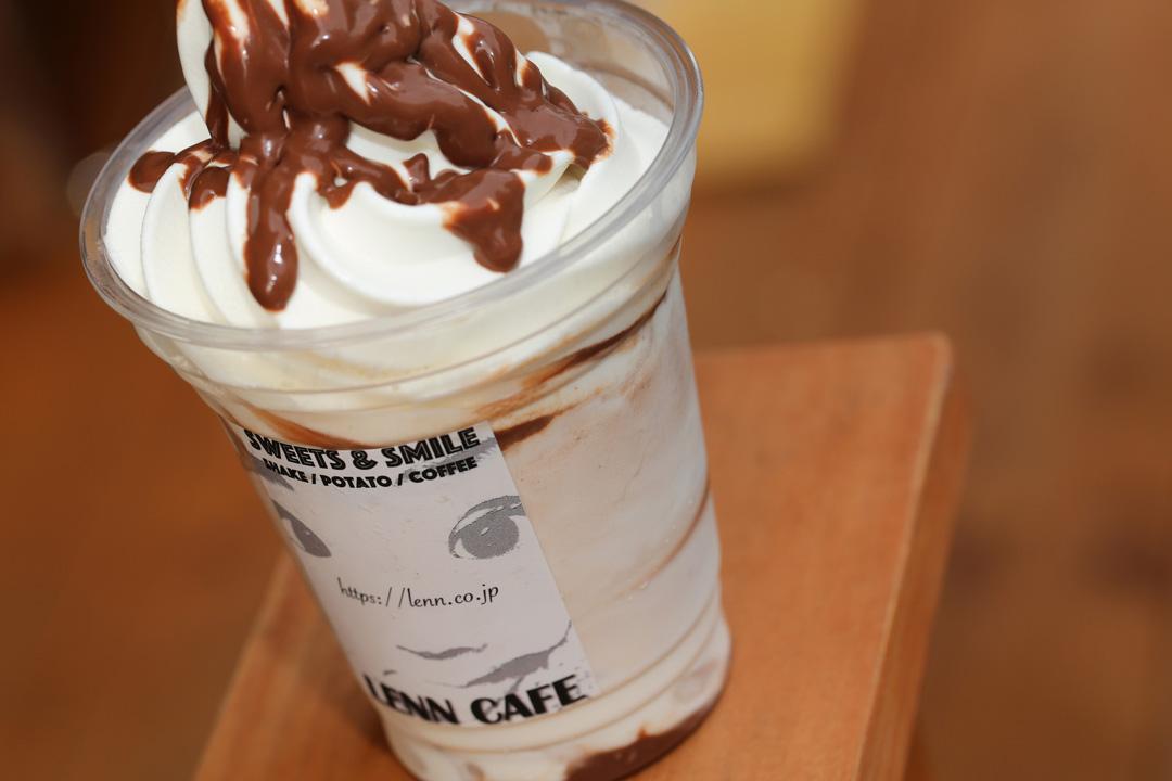 Chocolate-Shake(チョコレートシェイク)2 LENN CAFE(レンカフェ)