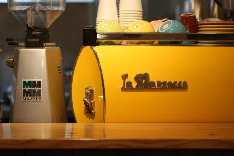 マルゾッコ(La-Marzocco)黄色(Yellow)2-960 LENN CAFE(レンカフェ)