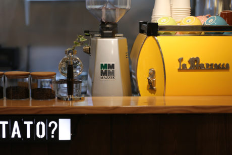 マルゾッコ(La-Marzocco)黄色(Yellow)3 LENN CAFE(レンカフェ)