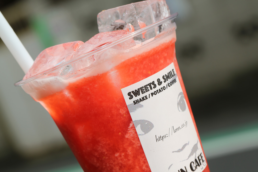 Strawberry-Juice(苺ジュース)レンカフェ(LENN-CAFE)2