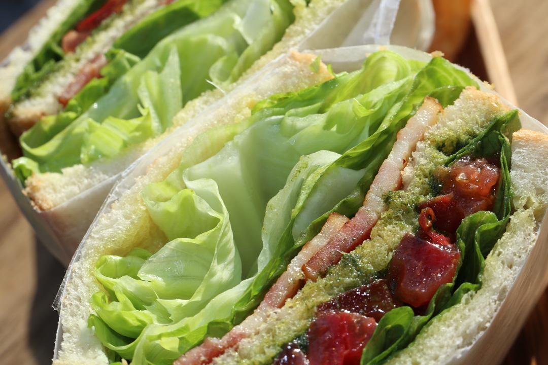 B.L.T-Sandwich(B.L.T-サンドイッチ)レンカフェ(LENN-CAFE)4