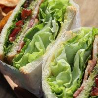 B.L.T-Sandwich(B.L.T-サンドイッチ)レンカフェ(LENN-CAFE)2