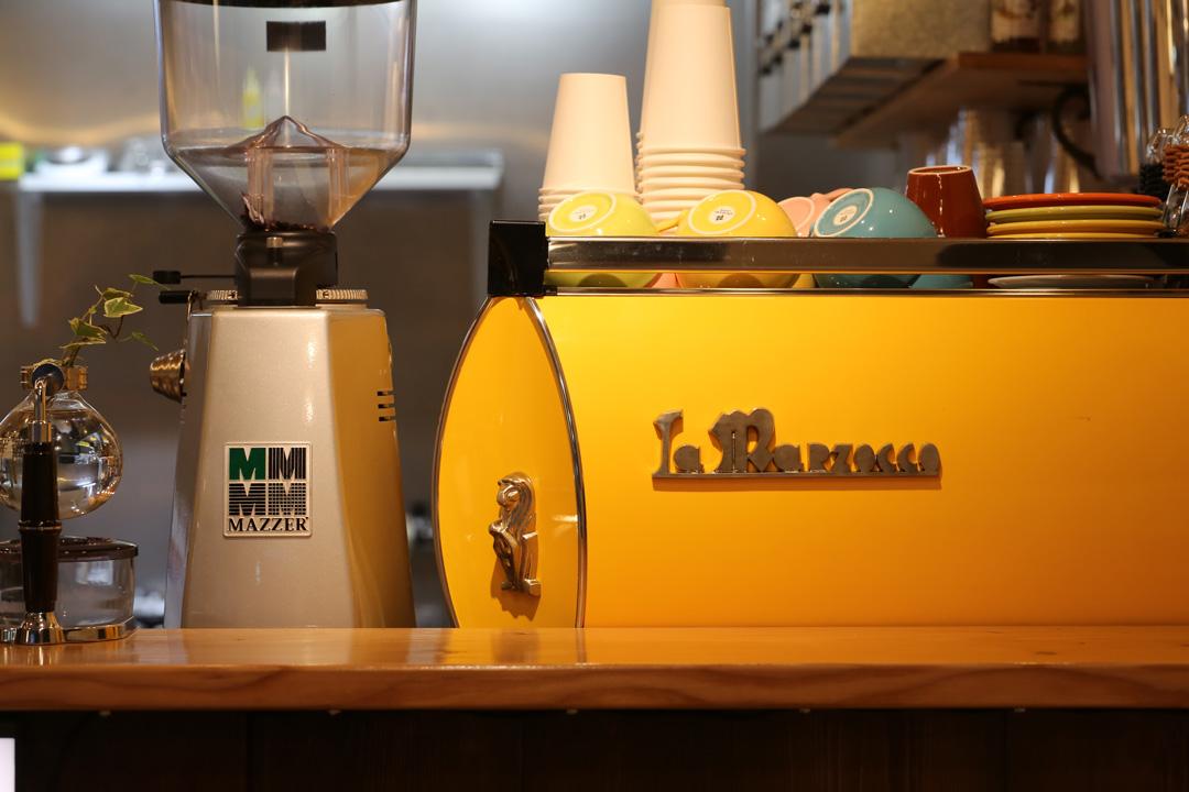 マルゾッコ黄色(lamarzocco Yellow)レンカフェ(LENN-CAFE)
