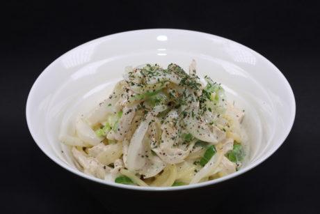 鶏ネギ塩バターパスタ(Chicken Cream Pasta)レンカフェ(LENN CAFE)(パスタ)6