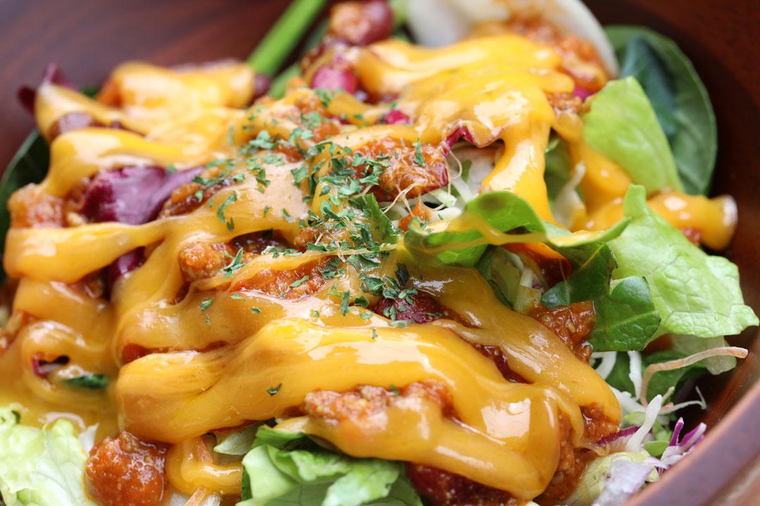 チリチーズサラダ(Chilli Cheese Salad)LENN CAFE(レンカフェ)3