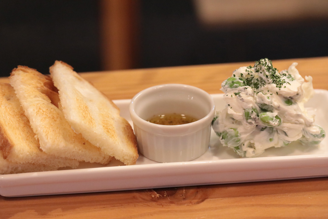 枝豆のクリームチーズ和え(れんかふぇ---LENN-CAFE(レンカフェ))11
