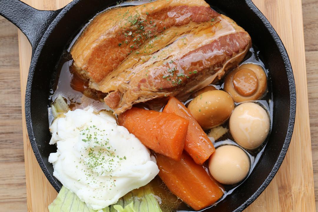 豚バラ肉の生ビール煮込み(れんかふぇ---LENN-CAFE(レンカフェ))12