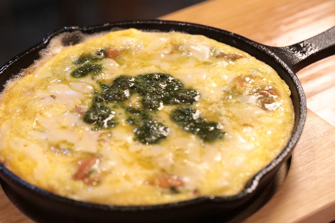バジルチーズオムレツ(れんかふぇ---LENN-CAFE(レンカフェ))11
