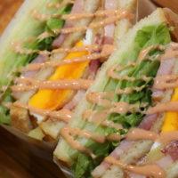 LENN CAFE(レンカフェ)「れんかふぇ・レンかふぇ」ベーコンエッグサンドイッチ_Bacon Egg Sandwich3