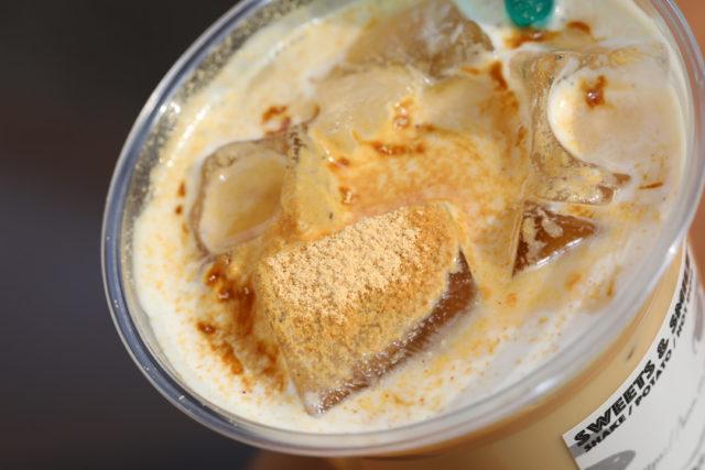 Kuromitsu-Kinako-Milk(hot・iced)黒みつきな粉ミルク(ホット・アイス)LENN-CAFE(レンカフェ)「れんかふぇ・れんカフェ」4