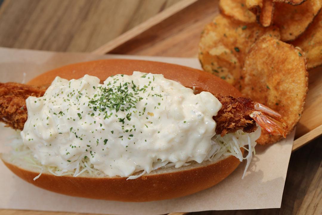 エビフライドック(Fried-Shrimp-Dog)LENN-CAFE(レンカフェ)3