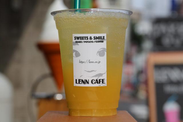 オレンジソーダ(Fresh-Orange-Soda)LENN-CAFE(レンカフェ)「れんかふぇ・れんカフェ」1