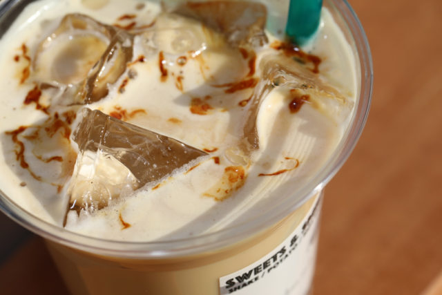Kokutou-Milk(hot・iced)黒糖ミルク(ホット・アイス)LENN-CAFE(レンカフェ)「れんかふぇ・れんカフェ」3