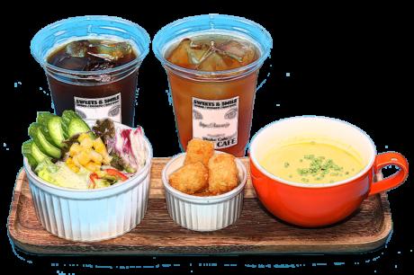 「スペシャルドリンクセット(Special Drink Set)」レンカフェ(LENN CAFE)