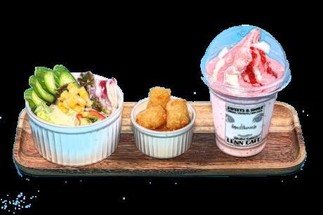 「スペシャルシェイクセット(Special Shake Set)「レンカフェ(LENN CAFE)」