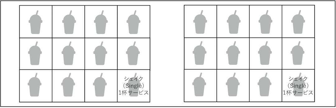 レンカフェデリバリーシェイクカード(LENN CAFE Delivery Shake Card)」LENN CAFE4