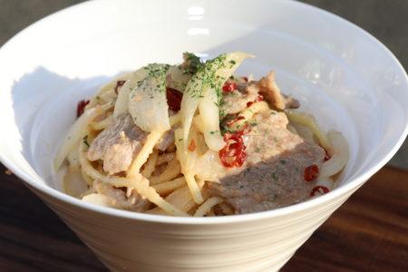 タラコンチーノパスタ(tarraconcino Pasta)2