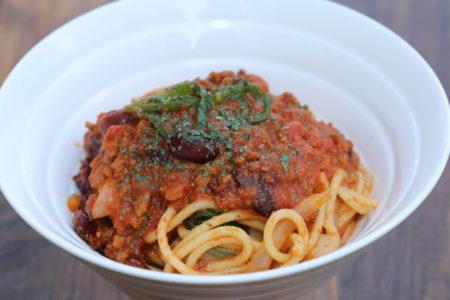 ワイルドチリミートパスタ(Wild Chilli Meat Pasta)3