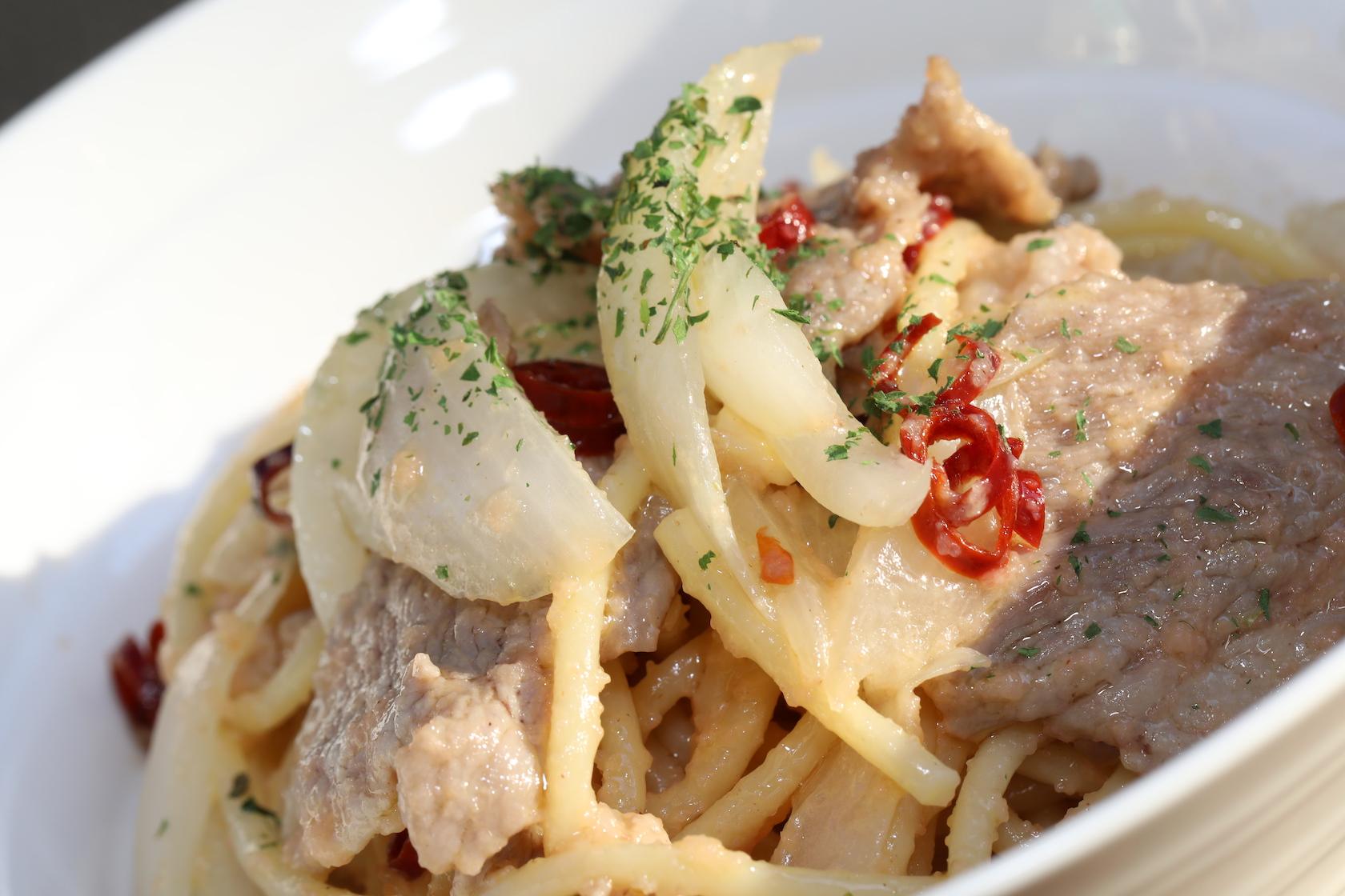 タラコンチーノパスタ(tarraconcino Pasta)3