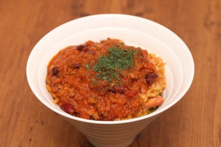 ワイルドチリミートリゾット(Wild Chilli Meat Risotto)1
