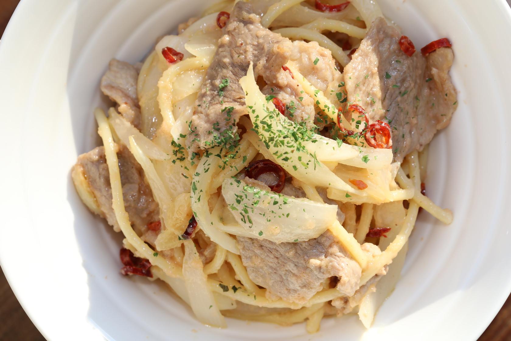 タラコンチーノパスタ(tarraconcino Pasta)1