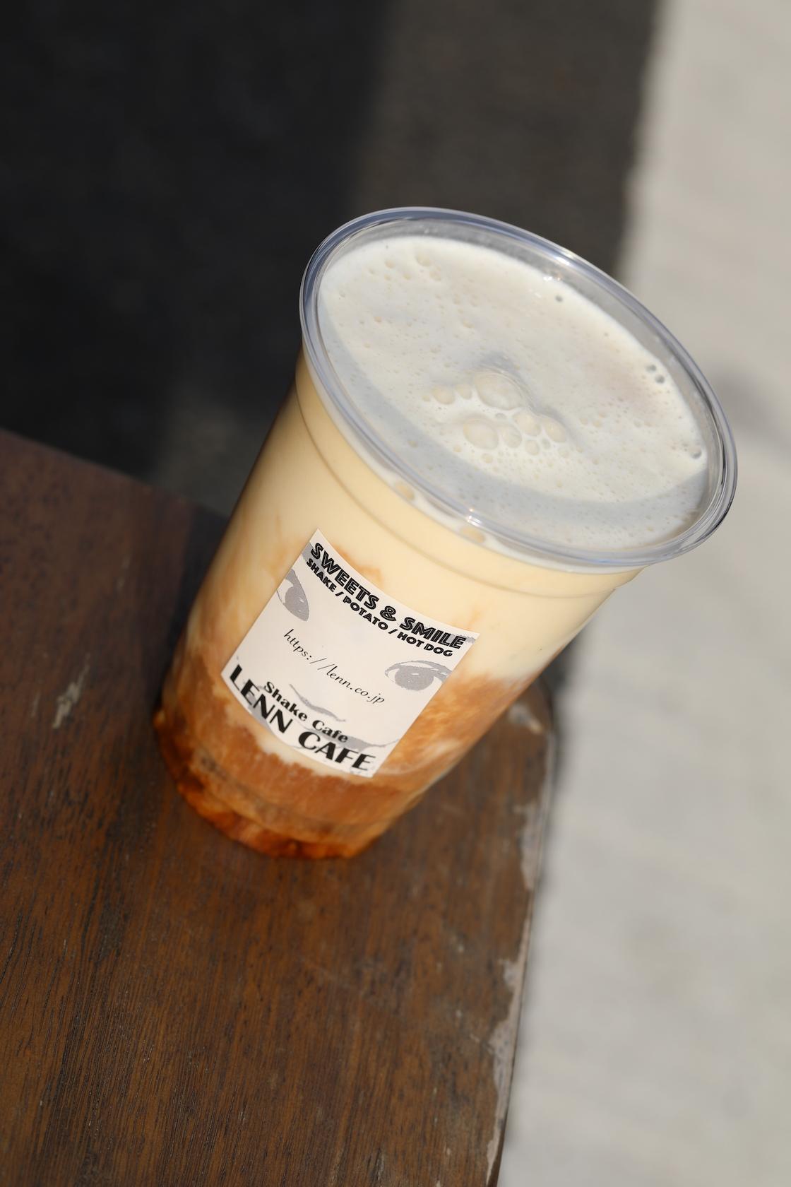 生バナナカフェ・ラテ(Banana Cafe Latte)13