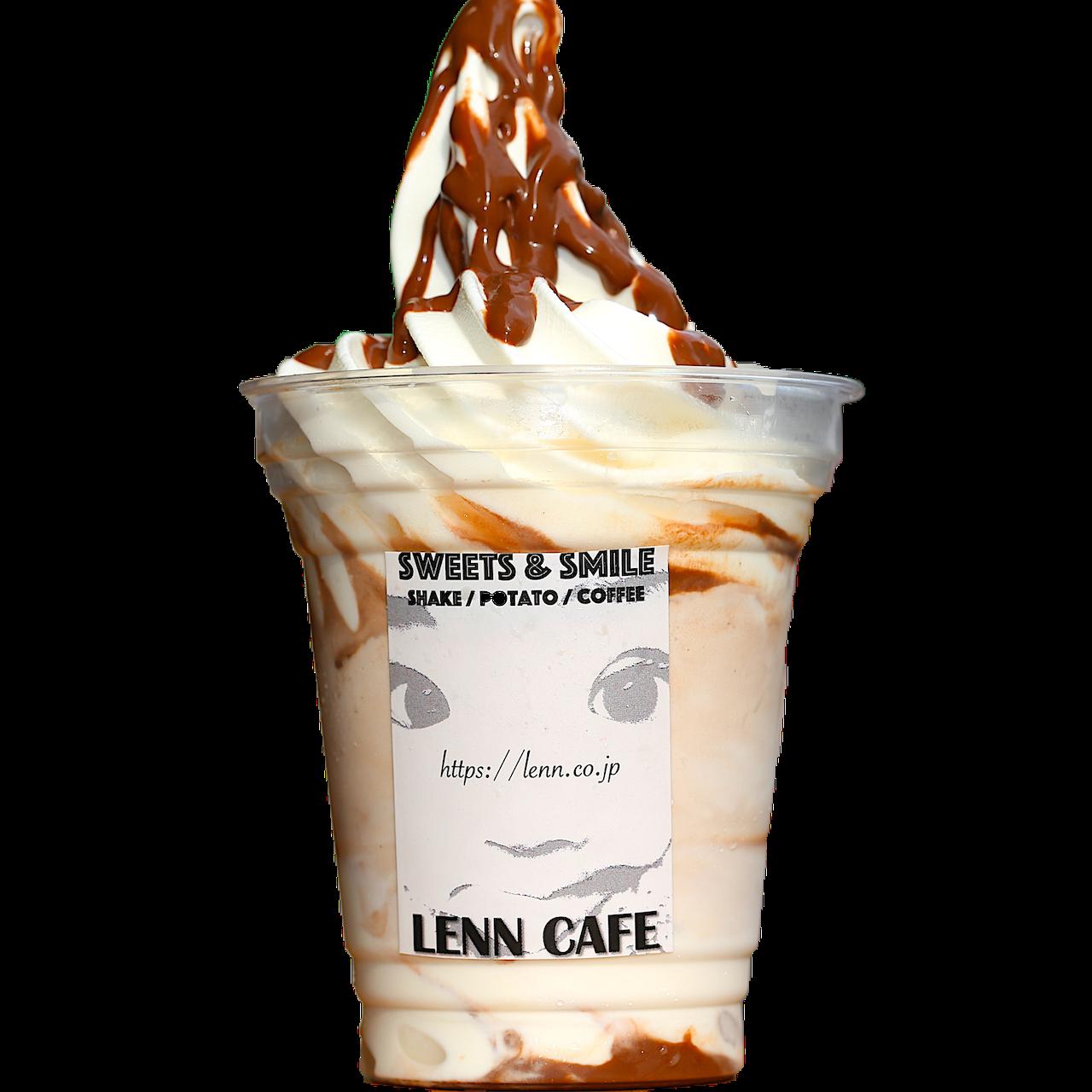 生チョコレートシェイク(Chocolate Shake)レンカフェ(LENN CAFE)