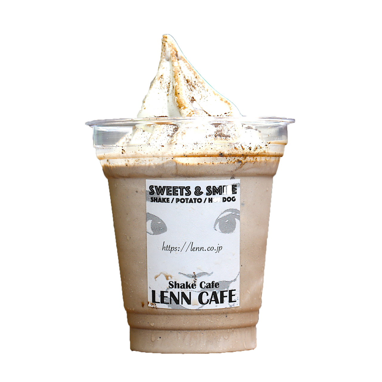 ほうじ茶シェイク(Roasted Green Tea Shake)レンカフェ(LENN CAFE)